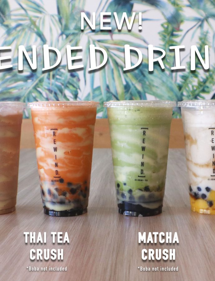 Blended Crush Drinks